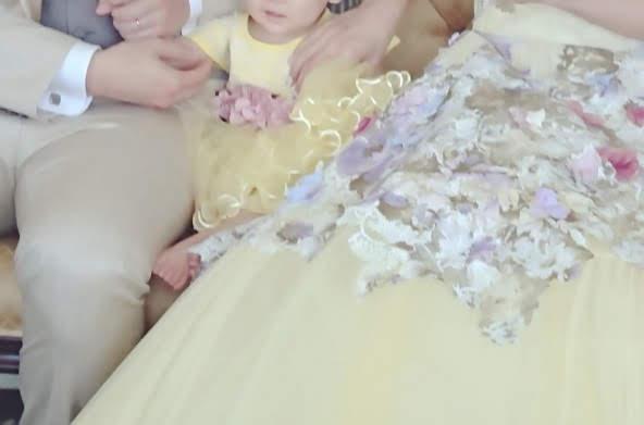 パパママ婚カクテルドレス