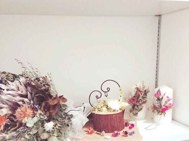 玄関の結婚式コーナー