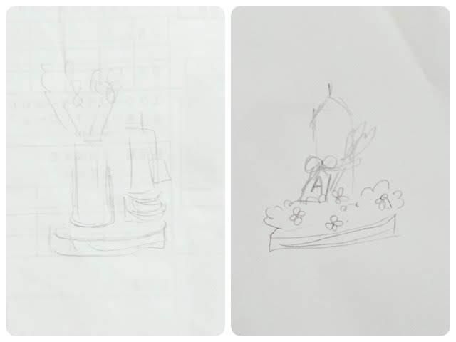 最初のテーブルナンバーのデザイン