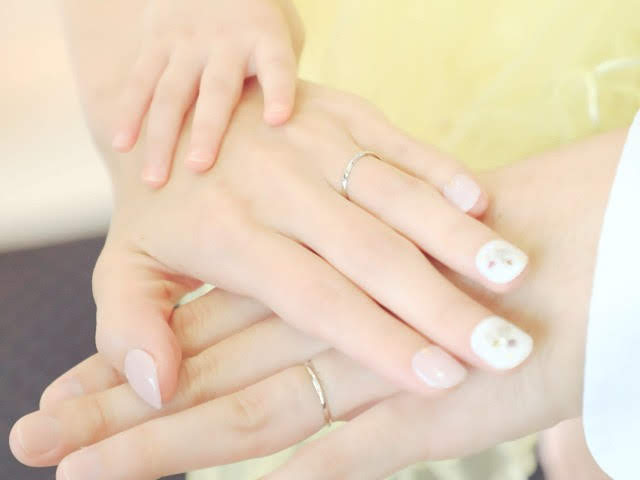 パパママ婚三人の手