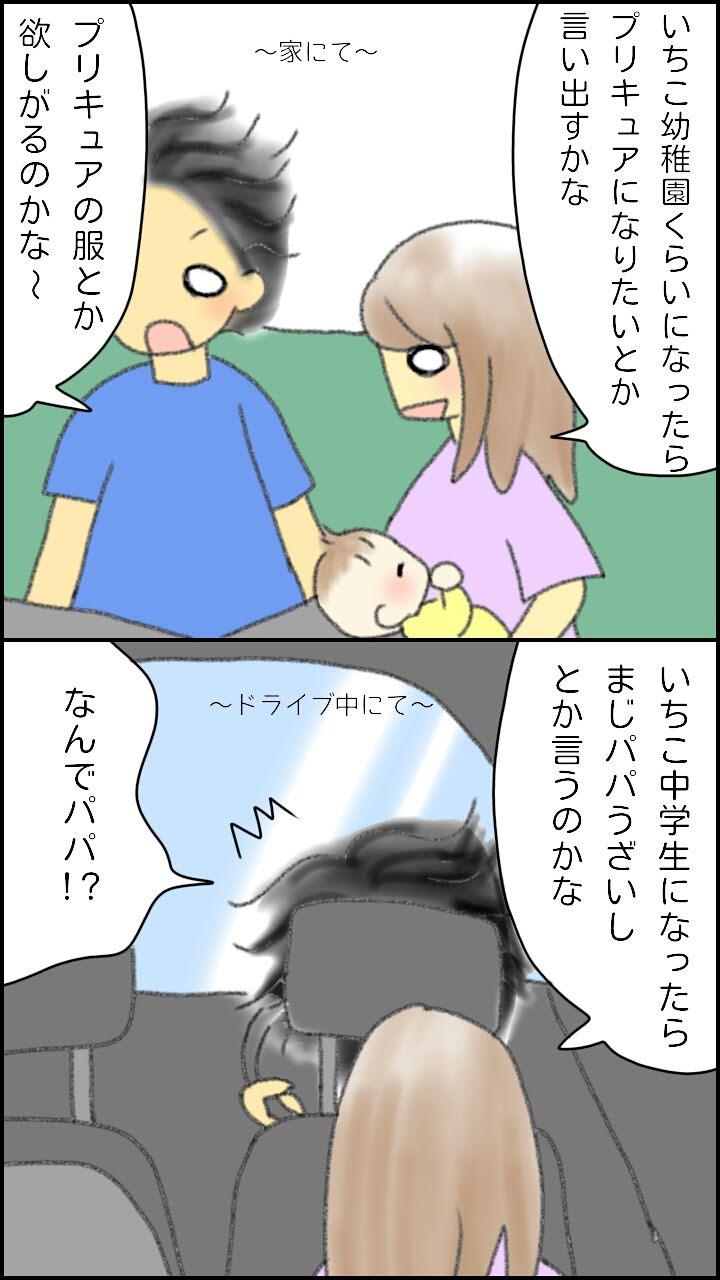 親の妄想あるある1